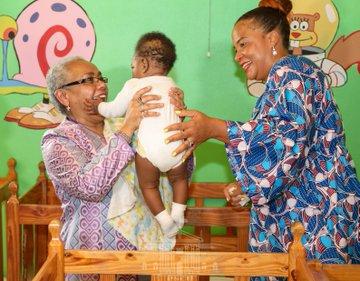 FIRST LADY MARGARET KENYATTA, KENYA