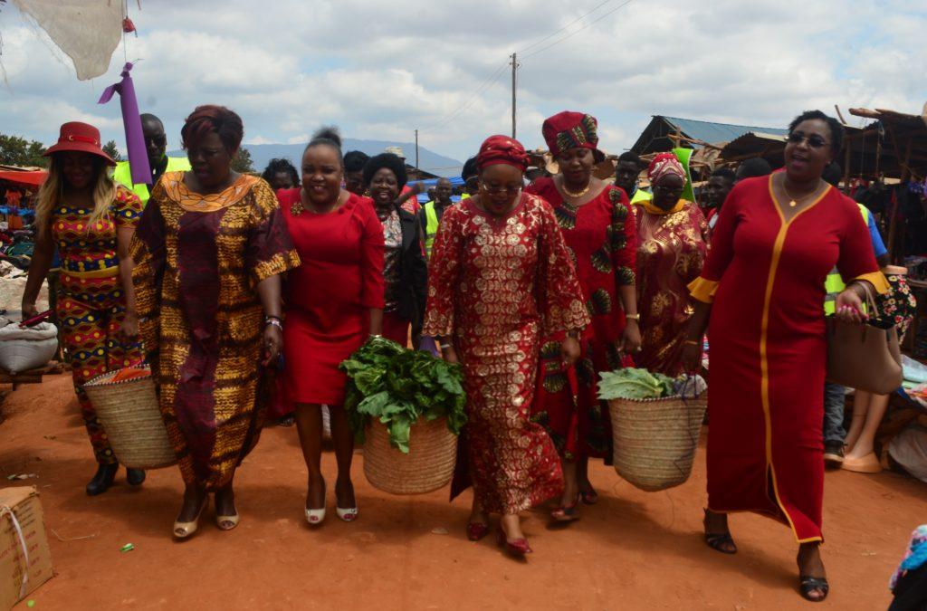 Inua Mama visits Caltex New Market in Taita Taveta