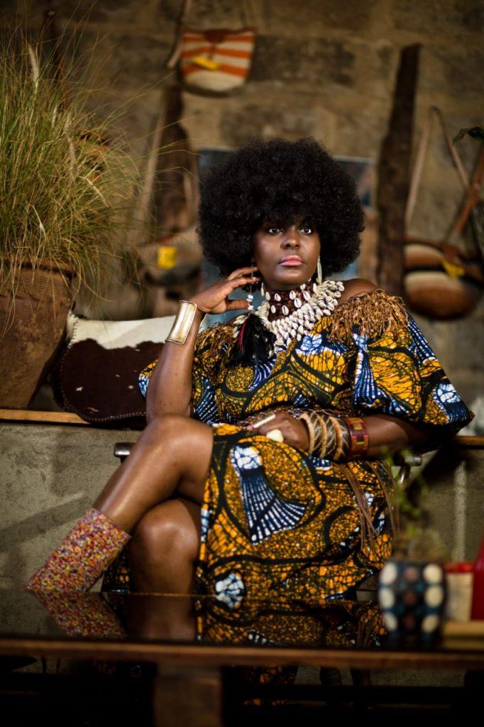 A fierce African queen