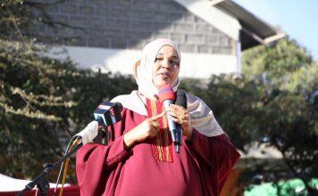 Garissa County MP Anab Gure