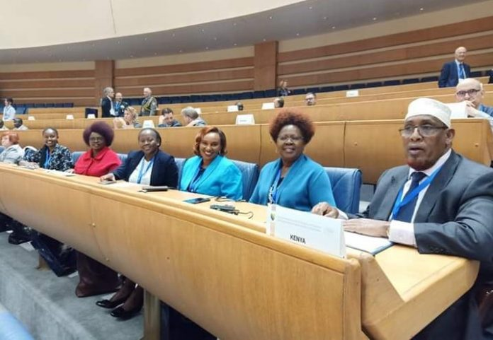 MP Alice Wahome and other leaders