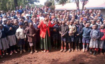 Nyandarua Women Representative Faith Gitau