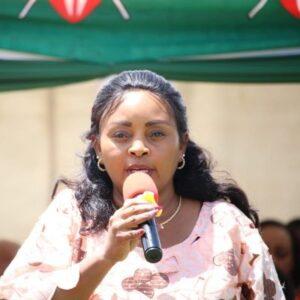 Nominated MP Halima Mucheke