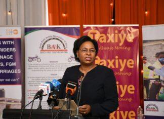 Women bodaboda in Kenya